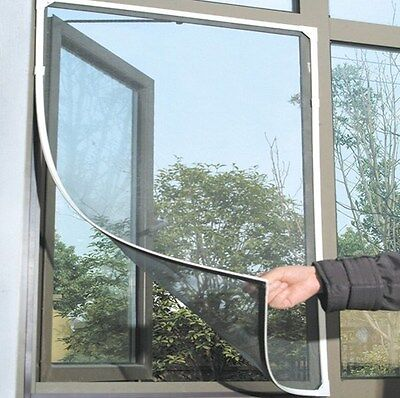 DIY Mosquito Fly Door Window Mesh Screen Nylon Tape Net Insect Protector Curtain