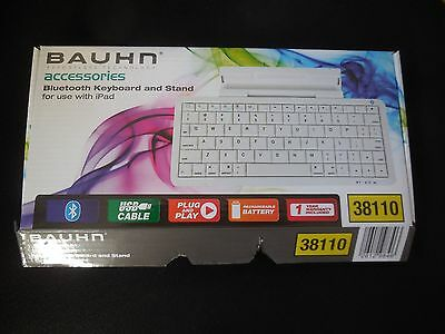 *new* Bauhn Bluetooth Keyboard And Stand For Use With Ipad