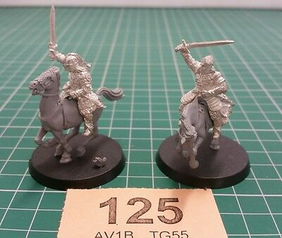 Eomer and Theoden. metal. Lord of the rings. warhammer