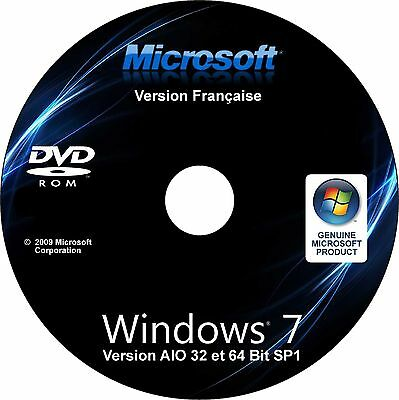 Windows 7 All In One AIO toutes versions 32 et 64 bits Installation Restauration