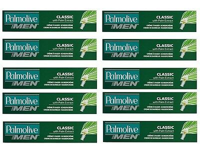 12x 100ml  Palmolive for men RASIERCREME / Shave Cream  CLASSIC