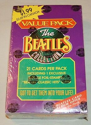1993 River Group The Beatles Collection Sealed Jumbo Card Box 24 Packs 1 - 220