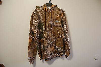 Mountain Dew RUSSEL OUTDOORS REALTREE Camo Hoodie Jackie size M New Camouflage