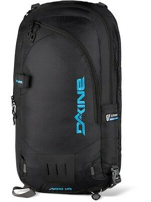 Dakine Black 15W ABS Vario Cover - 15 Litre Snowboarding Backpack