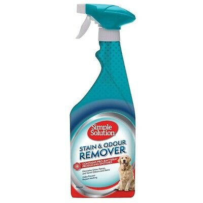 Simple Solution Dog / Puppy Pet Stain & Odour Remover 750ml - Eliminates Odours
