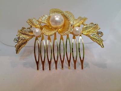 Traditional THAI DANCE Costume HAIR PIN Women JEWELRY Wedding Bridal CLIPS Comb