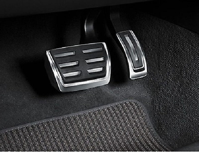 Genuine Audi A4 & A5 B9 Aluminium Pedal Covers for RHD & Automatic Models