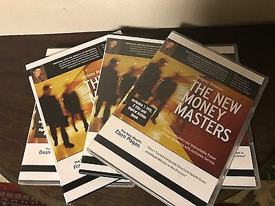 LKNW! Anthony Robbins The New Money Masters SET 4 DVDs / 7 CDs