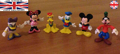 Mickey mouse Figures - mickey mouse clubhouse figures 6 pcs set , cake topper
