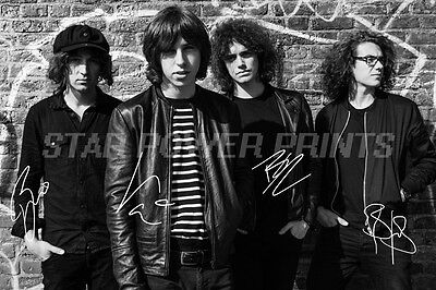 Catfish And The Bottlemen Pre Signed Photo Print Poster - 12 X 8 Inch A+ Quality
