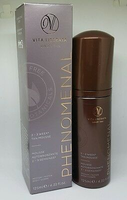 Vita Liberata phenomenal 2-3 week Tan Mousse Medium 125ml Free Postage