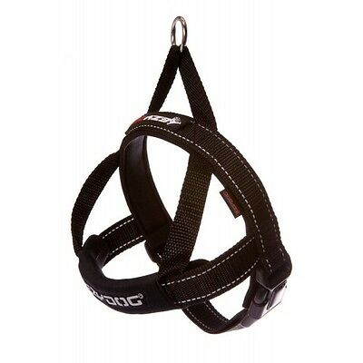 EZYDOG - Black Extra Small  Quick Fit Dog Harness - Free Delivery
