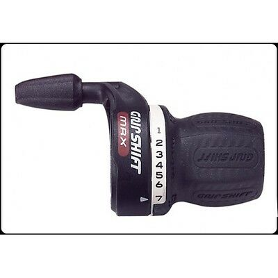 Right Hand Bike Grip Shift & Gear Cable 7 Speed - PRGS7 - Free Delivery