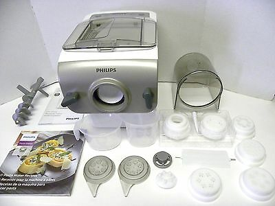 Philips  Electric Automatic PASTA MAKER Noodles Dough Lasagna Spaghetti HR2357