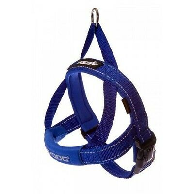 EZYDOG - Blue Medium Quick Fit Dog Harness - Free Delivery