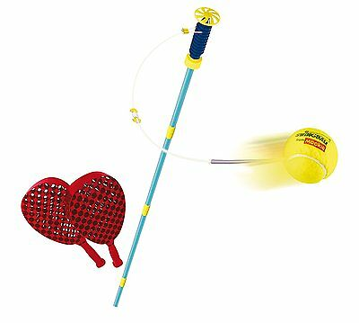 Family Swingball Game Children Adults Outdoor Kids Play Toy Tennis Garden Patio
