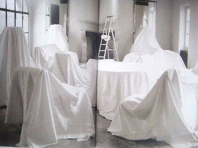 5 x Large All Purpose Dust Sheet Non Woven Painter Wall Furniture Reusable
