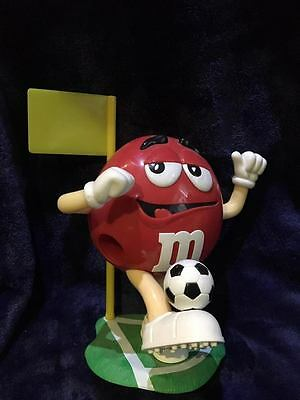 Rare M & M Sweet Candy Dispenser - Red Football - Collectable Figure M and M