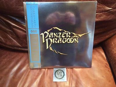 Data Discs Panzer Dragoon Vinyl Soundtrack Limited Edition Clear Blue Grey