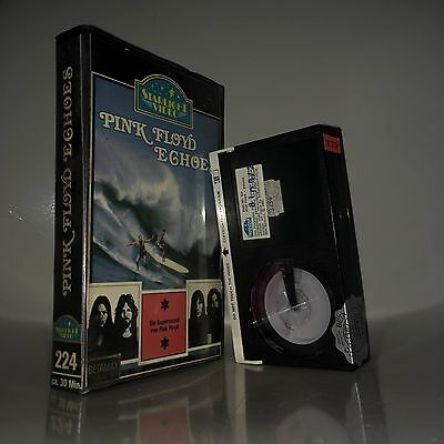 Ultrarare PINK FLOYD Echoes beta / betamax PRE-CERT Video Starlight No Glasbox ß