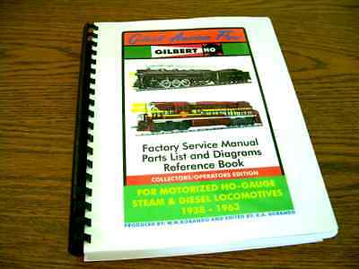 Gilbert American Flyer - HO-Gauge Factory Service Manual - Reference Book
