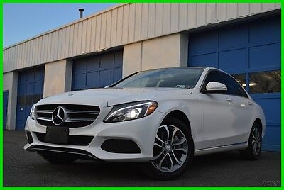 2015 Mercedes-Benz C-Class C300 4MATIC AWD Warranty Loaded Low Mls Save Big Panoramic Moonroof Navigation Heated Memory Sport Seat Burmester Audio Excellent