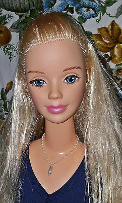 My Size Barbie Doll In WVU Cheerleader Outfit (R16121201)
