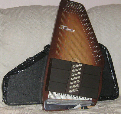 Autoharp Oscar Schmidt 21 Chord Educator Model Made in USA with Case