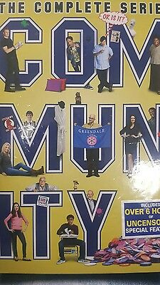 Community: Seasons 1-6 (DVD, 2016, 9-Disc Set)