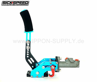 SICKSPEED Handbremse hydraulisch Fly Off BLAU Drift Rallye E-Brake