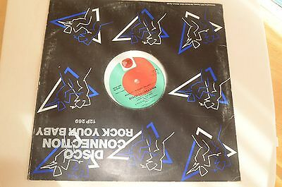 "DISCO CONNECTION Rock your Baby (1983 UK 12"" vinyl single) VG+/EX"