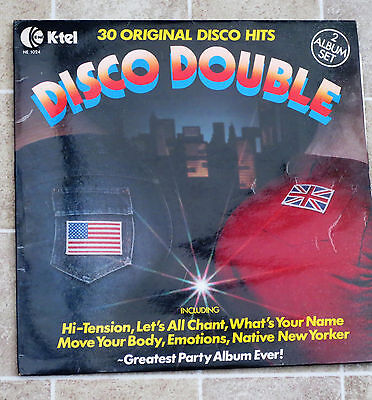 Disco double vinyl double LP songs from the late 70's