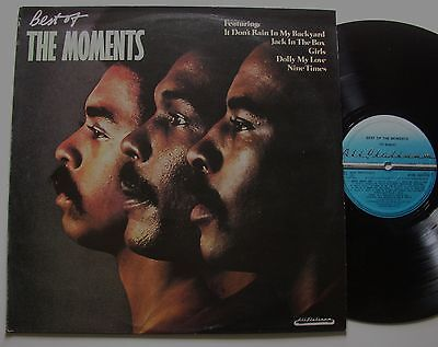 THE MOMENTS: Best Of (All Platinum)  1977  LP