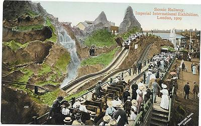 294  Pc   Scenic Railway  Imperial International Exhibition London 1909 Unposted
