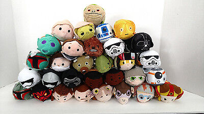 "Star Wars Collection Mini Tsum Tsum 3.5"" Plush US Seller Disney Pick a Character"