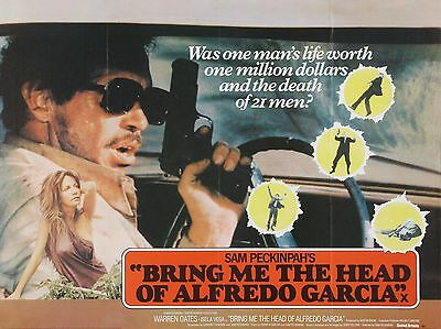 "Bring me the Head of Alfredo Garcia 16"" x 12"" Reproduction Movie Poster Photo"