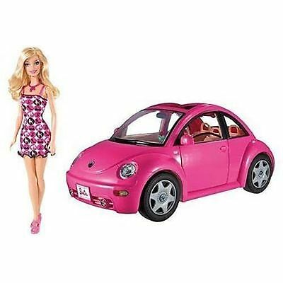2010 Barbie Volkswagen Beetle and Doll Set by Mattel Kohl's Exclusive – New