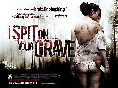 """I Spit on my Grave 16"""" x 12"""" Reproduction Movie Poster Photograph"""