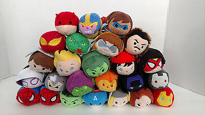 "Marvel Collection Mini Tsum Tsum 3.5"" Plush US Seller Disney Pick A Character"