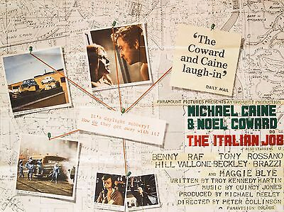 "The Italian Job 16"" x 12"" Reproduction Movie Poster Photograph 3"