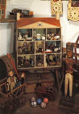 Postcard Toy Soldier Old Dolls House Snowshill Manor BROADWAY Worcestershire