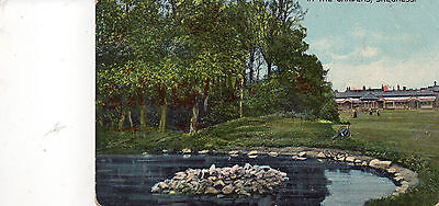 Postcard Lincolshire PRINT Skegness in the gardens   posted 1906