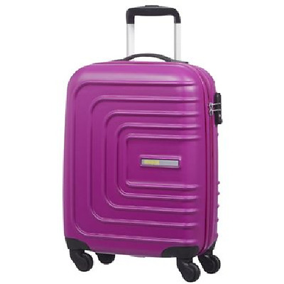American Tourister Sunset Spinner 4-Wheel Hard Shell Pink Cabin Case Luggage