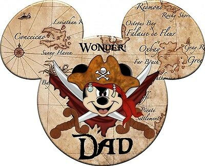 Disney Personalized Pirate Cruise Magnet 10 x 8 Need Name/Ship/Year