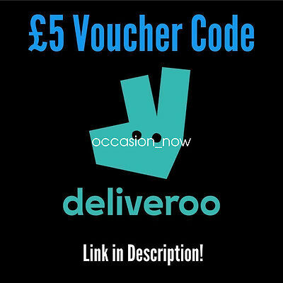 £5 Deliveroo voucher coupon code - link in description - NO PURCHASE REQUIRED