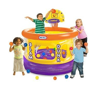 Ball Pits For Toddlers Inflatable Kids Slam Dunk Indoor Outdoor Games Play Child