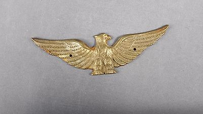 Small Brass Eagle Plaque