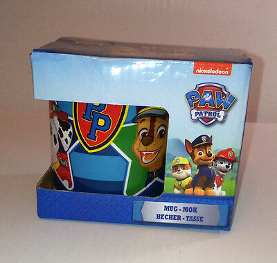 CHASE RUBBLE MARSHALL Childs Mug PAW PATROL DOGS Ceramic 8oz 225ml RED BLUE GIFT