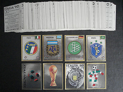 ***Panini World Cup 90 (1990) Complete Sticker Set***