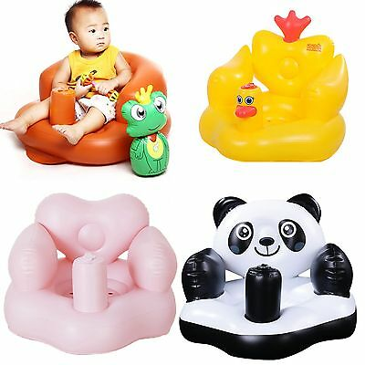 2016 Baby Sofa Inflatable Learn stool Training seat Bath Dining Chair PVC Seat